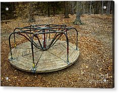 Playground In The Woods Acrylic Print
