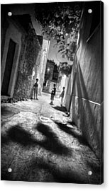 Playground Shadows Acrylic Print