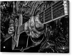 Playin The Blues Acrylic Print