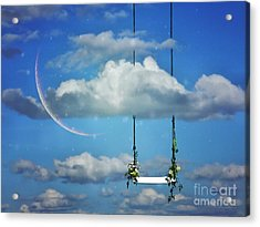 Playing In The Clouds Acrylic Print