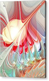 Playing With Colors Acrylic Print