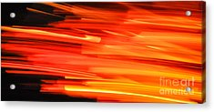 Playing With Fire 17 Acrylic Print
