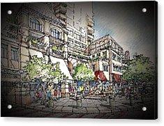 Plaza 2 Acrylic Print