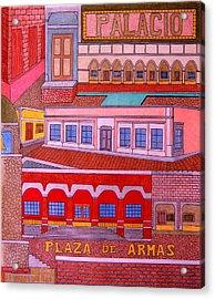 Plaza De Armas Acrylic Print