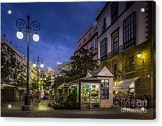 Plaza De Las Flores Cadiz Spain Acrylic Print