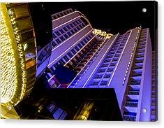 Plaza Hotel Downtown Vegas Acrylic Print