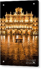 Plaza Mayor In Salamanca Acrylic Print