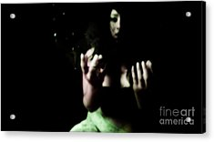 Acrylic Print featuring the photograph Pleading by Jessica Shelton