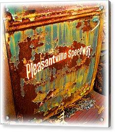 Pleasantville Speedway Acrylic Print