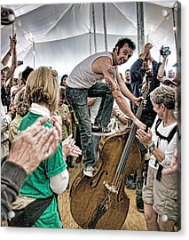The Lost Bayou Ramblers Pleasing The Crowd Acrylic Print