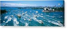 Pleasure Boats, Sydney Harbor, Australia Acrylic Print