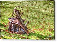 Pleasure's Of Autumn Acrylic Print by Richard Bean
