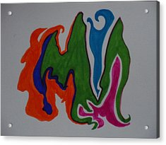 Pleiades Acrylic Print