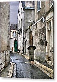 Pluie A Chartres - 1 Acrylic Print by Nikolyn McDonald