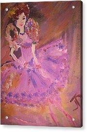 Plum Fairy Acrylic Print