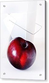 Plum Acrylic Print by HD Connelly