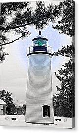 Plum Island Light Acrylic Print