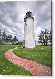 Plum Island Lighthouse Acrylic Print by Eric Gendron