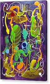 Plum Wild Acrylic Print by Bill Herold