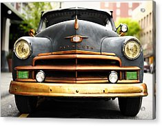 Plymouth Acrylic Print by Joe Longobardi