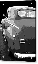 Plymouth The Car Acrylic Print by Ben and Raisa Gertsberg