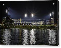 Pnc At Night. Acrylic Print by Jimmy Taaffe