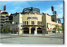 Pnc Park - Pittsburgh Pirates Acrylic Print by Frank Romeo