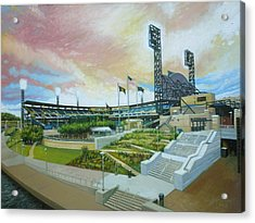 Pnc Park Pittsburgh Pirates Acrylic Print by Gregg Hinlicky