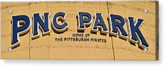 Pnc Park Acrylic Print by Frozen in Time Fine Art Photography