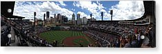 Pnc Park Acrylic Print by Shelley Johnsen