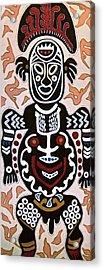 Papua New Guinea Manggi Acrylic Print