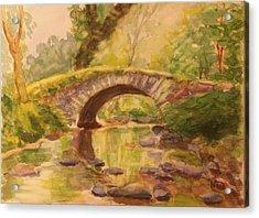 Pocantico River Ny Acrylic Print