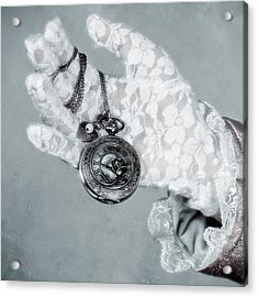 Pocket Watch Acrylic Print by Joana Kruse