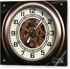 Pocket Watch Acrylic Print by John Rizzuto