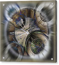 Pocketwatches 2 Acrylic Print by Steve Ohlsen