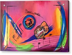 Poco Moto Acrylic Print by Karin Eisermann