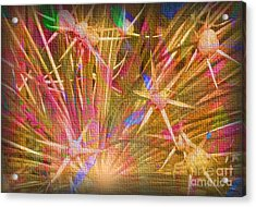 Pod Explosion Acrylic Print