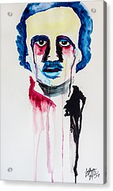 Acrylic Print featuring the painting Poe by Joshua Minso
