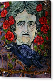 Poe Acrylic Print by Stacey Pilkington-Smith