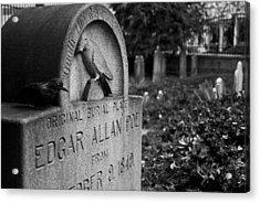 Poe's Original Grave Acrylic Print