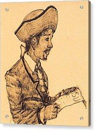 Poet Acrylic Print by George Harrison