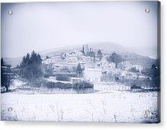 Poet-laval In Snow  Acrylic Print
