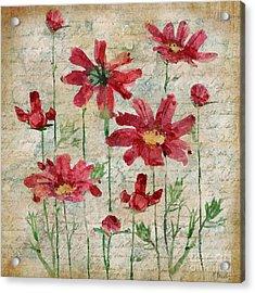 Poetic Garden IIi Acrylic Print