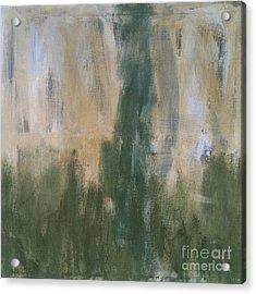 Poetry In Green Acrylic Print by Bebe Brookman