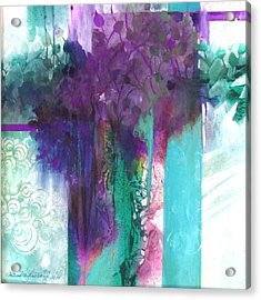 Poetry Is Painting Acrylic Print by Patricia Mayhew Hamm