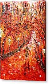 Poet's Walk  Acrylic Print