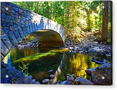 Pohono Bridge Yosemite National Park Acrylic Print