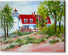 Point Betsie Acrylic Print