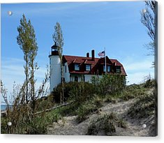 Point Betsie Lighthouse Acrylic Print