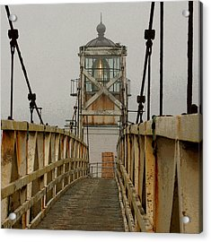 Point Bonita Lighthouse Acrylic Print by Art Block Collections